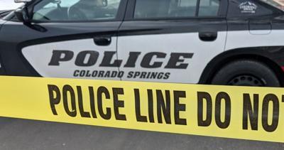 Colorado Springs police tape
