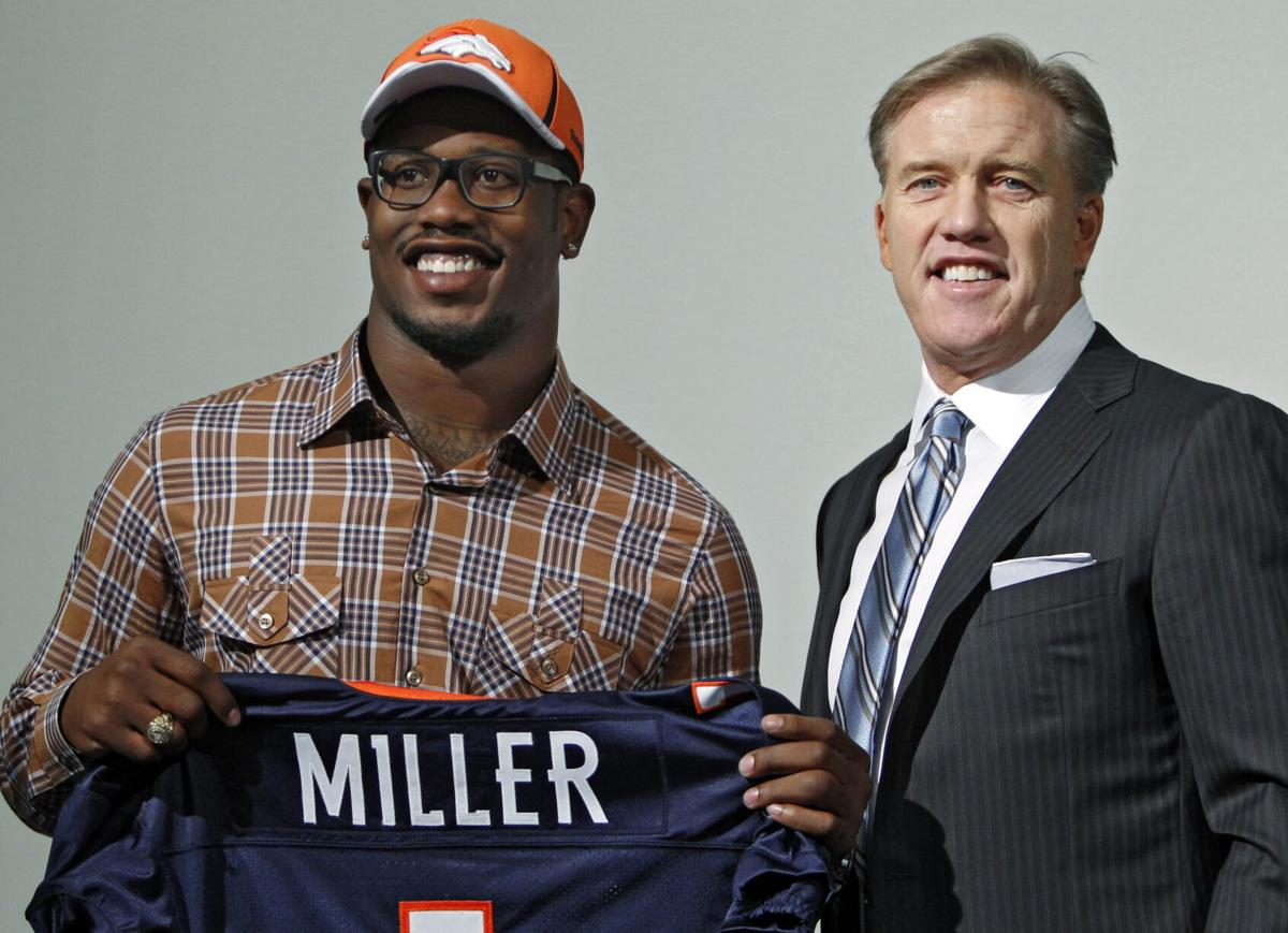 Drafted by Elway