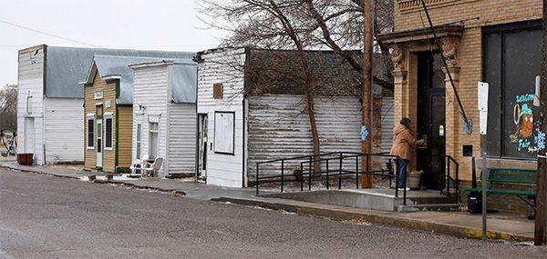 Pot on the Plains: ghost town