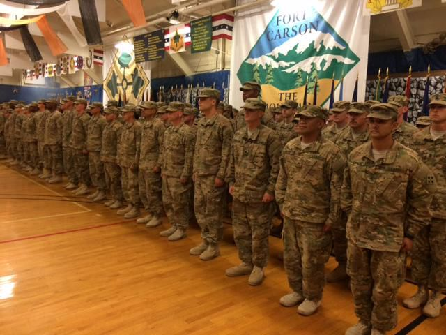 Hundreds of Carson soldiers return home from Middle East