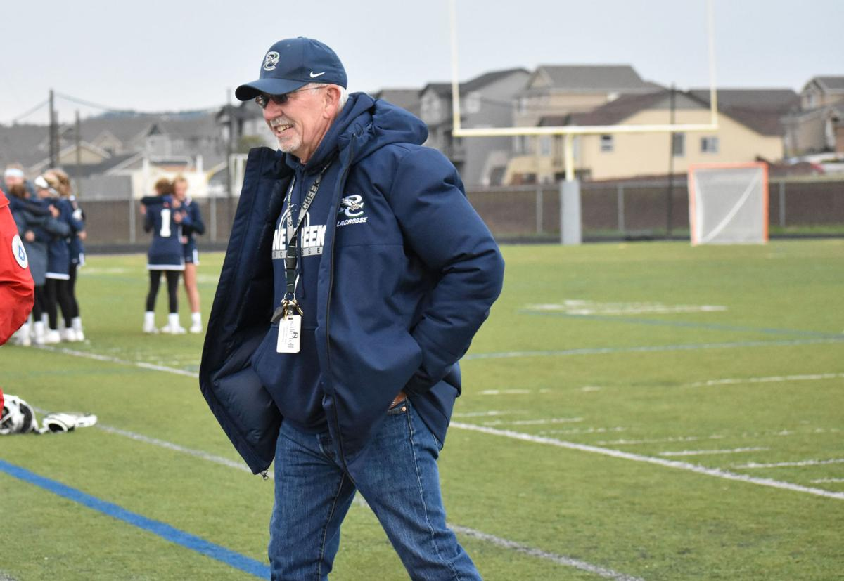 Pine Creek coach Roger Wallace