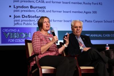 Monica Peloso, president of the Colorado Association of School Boards