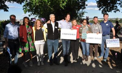 Democratic U.S. Senate candidates introduce themselves to activists at Denver forum