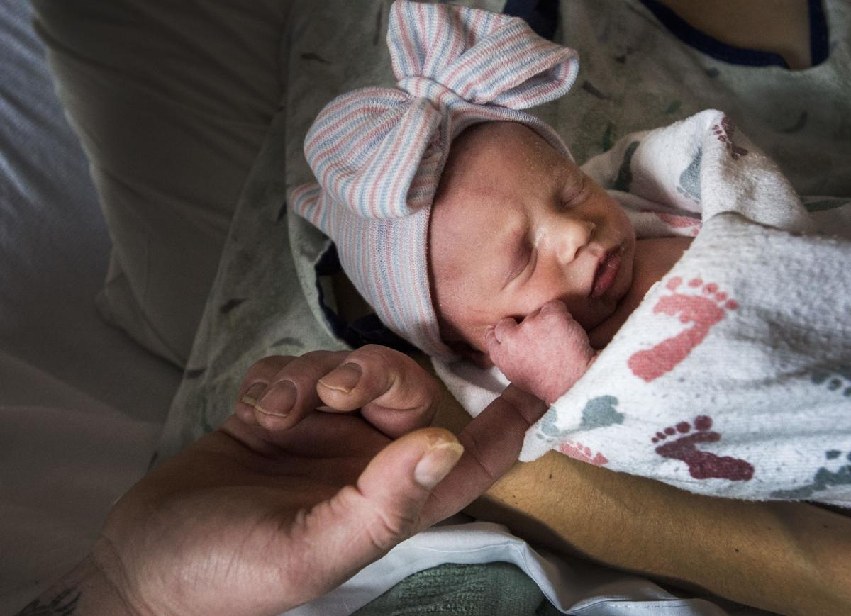 Isabelle Sheets, first baby born in Pikes Peak region in 2019
