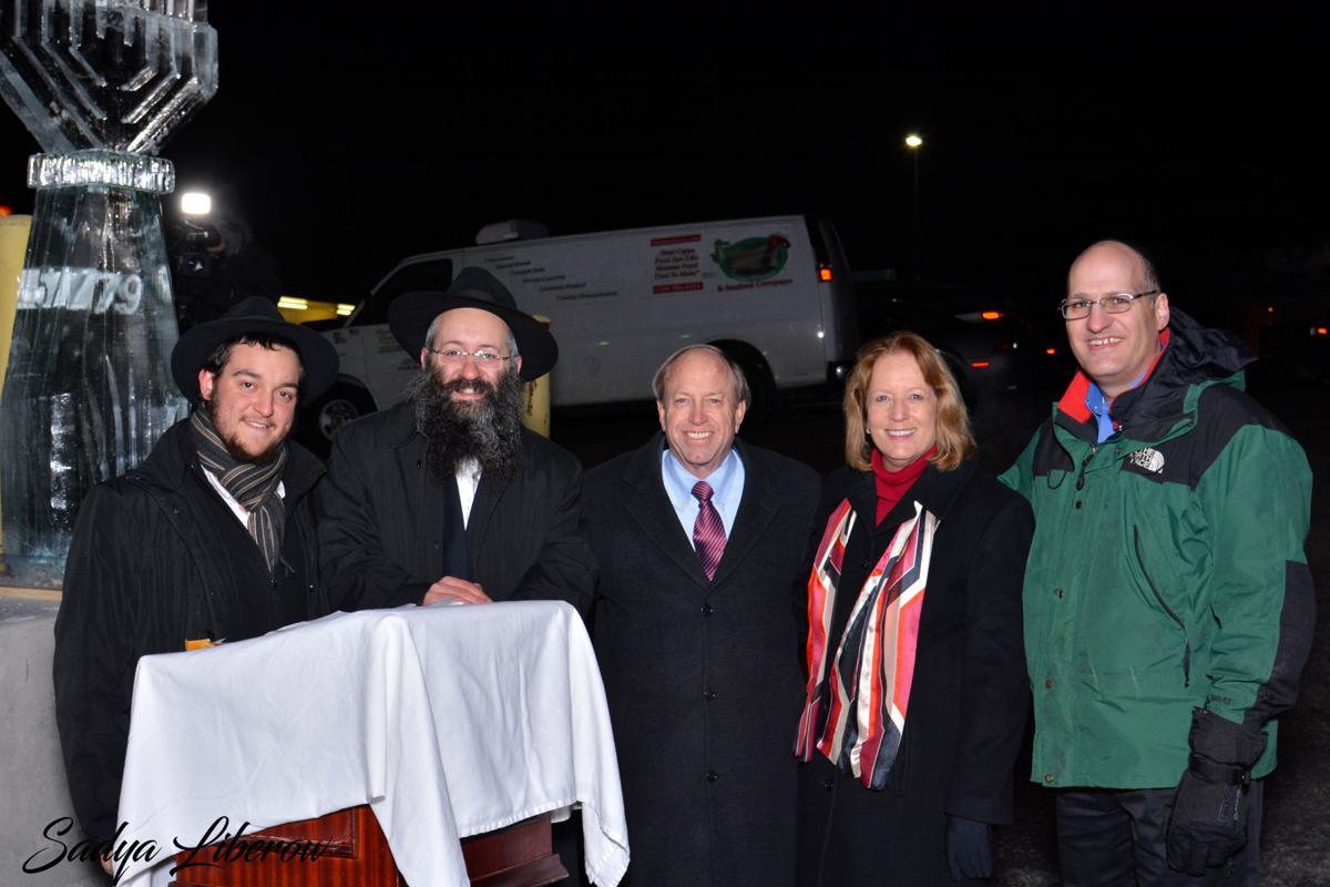 Chabad Lubavitch of Southern Colorado menorah