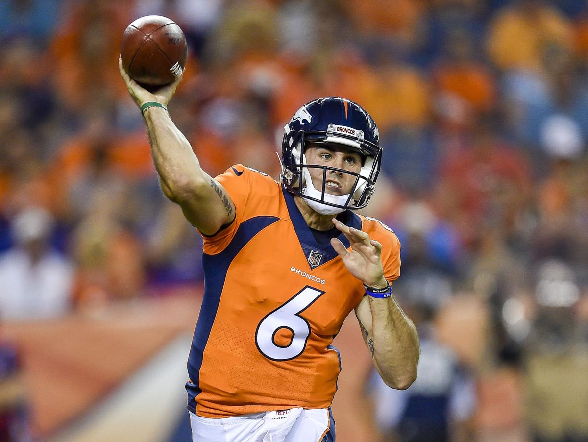 timeless design fd720 89761 Broncos quarterback Chad Kelly 'mumbling incoherently ...