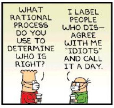 Dilbert panel