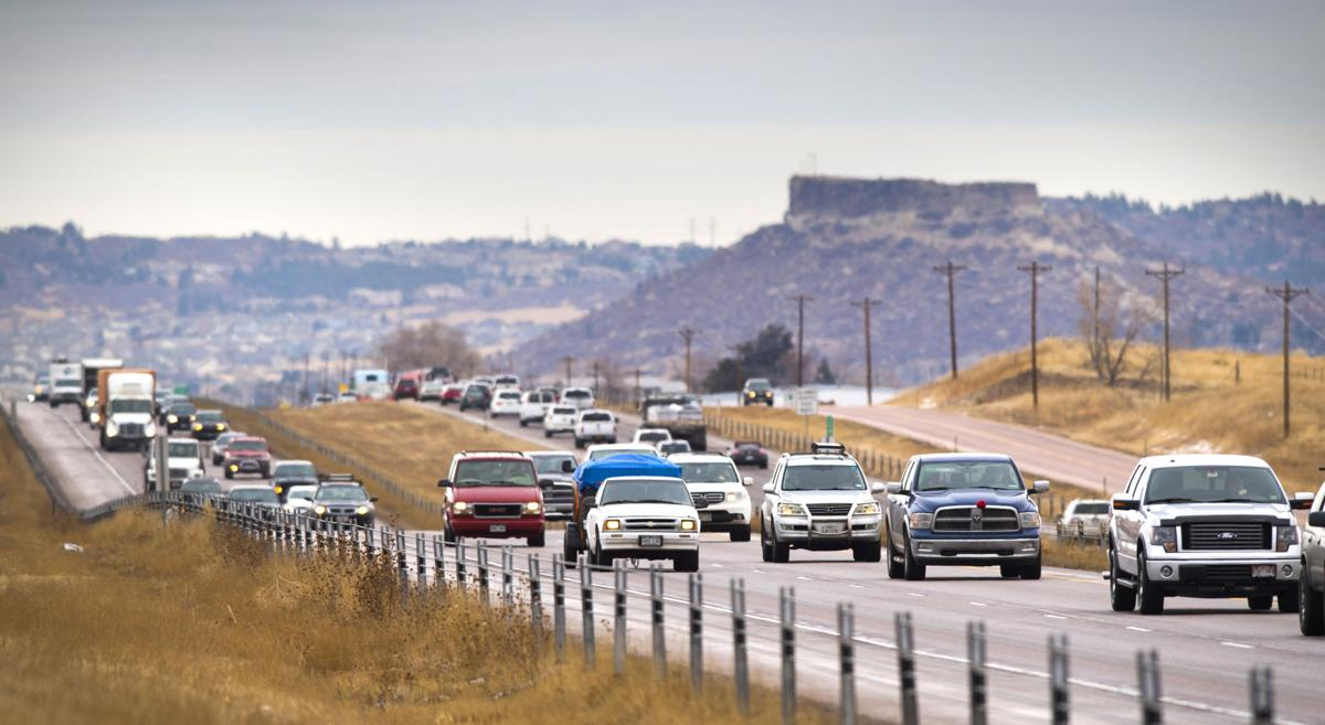 Starts and stops plague Interstate 25 widening project