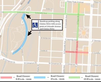 Pride Parade road closures