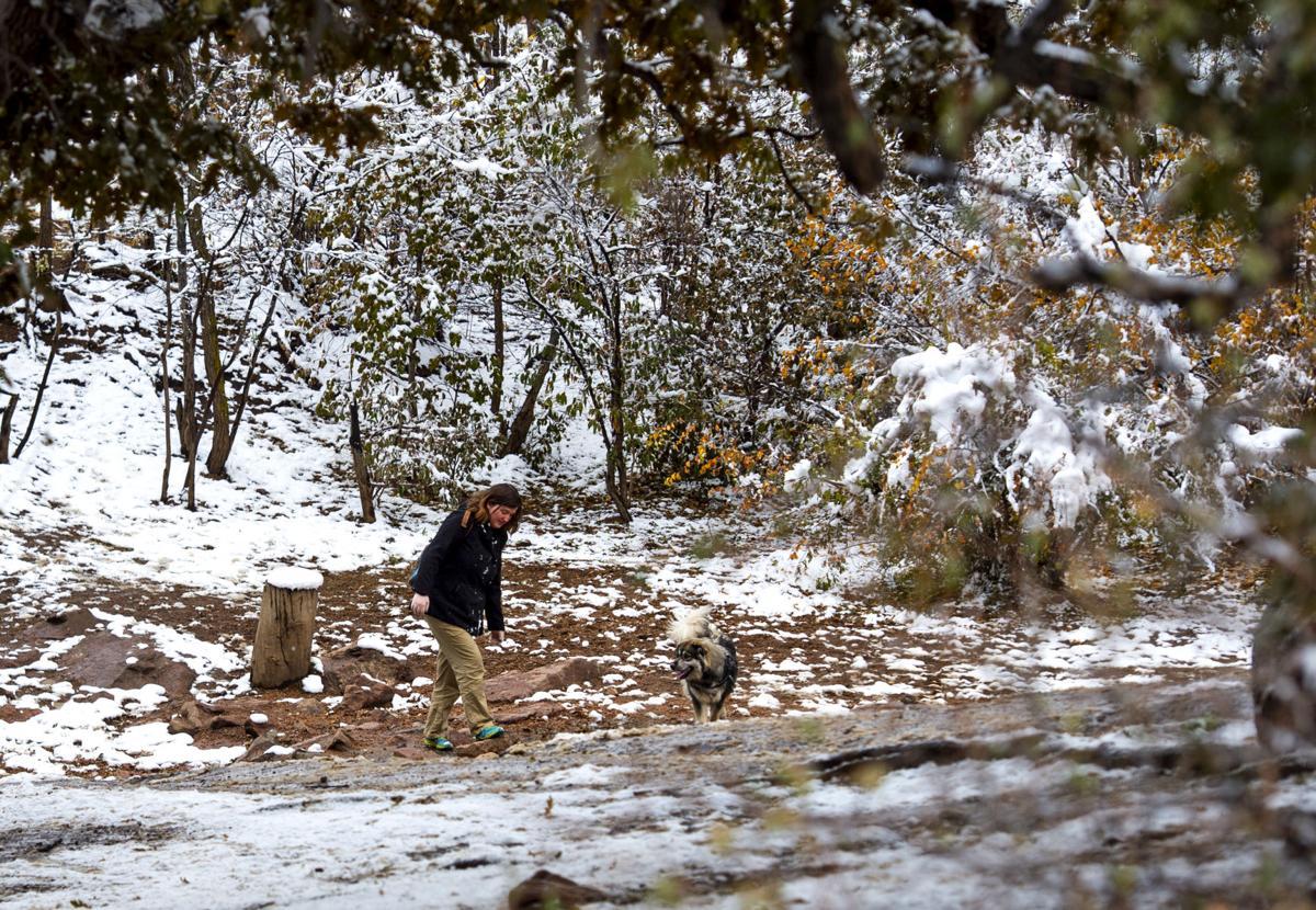 Snow days across the Cheyenne Mountain area
