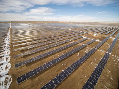 Grazing Yak Solar Project