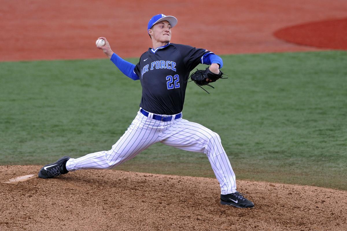 Griffin Jax, Air Force baseball
