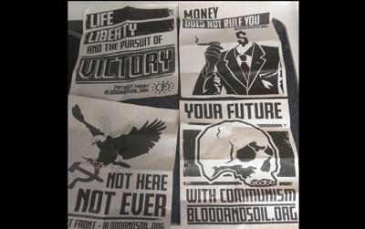 Patriot Front flyers