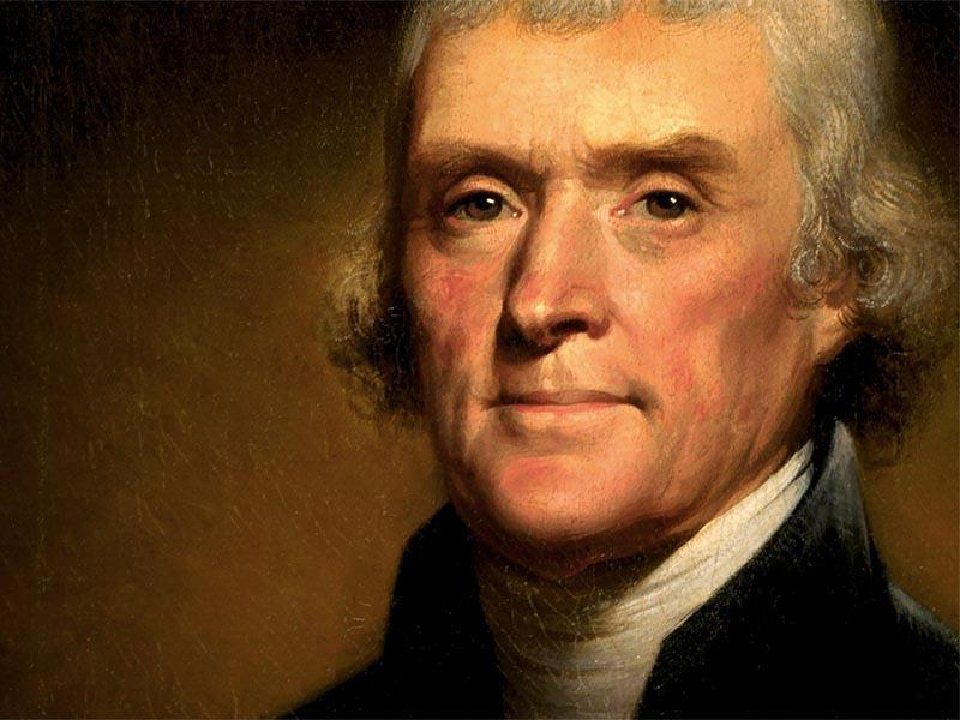 Thomas Jefferson, the third President of the United States. Photo courtesy of Wikimedia Commons