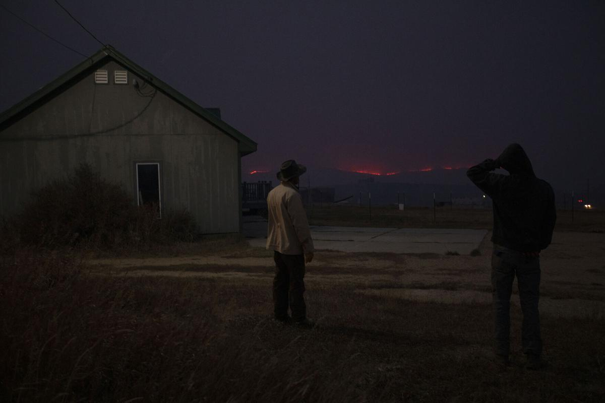 East Troublesome fire grows