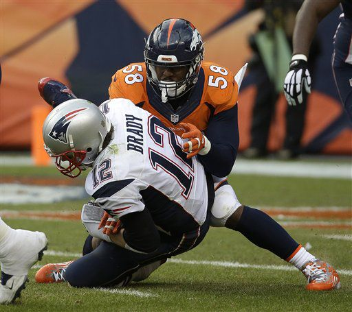 d911856a0e6 Von Miller listed as  Tom Brady s Daddy  on Wikipedia
