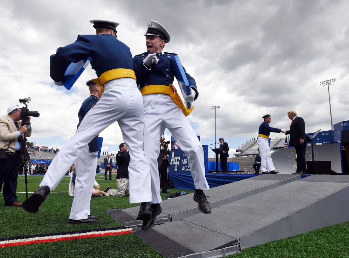 'Class of 2019 dismissed': AFA cadets celebrate graduation in grand fashion
