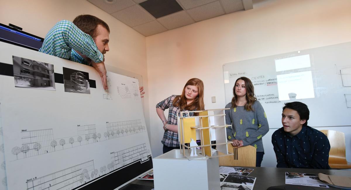 Colorado Springs High School Students Learn Intricacies Of Design In Architecture Class Colorado Springs News Gazette Com
