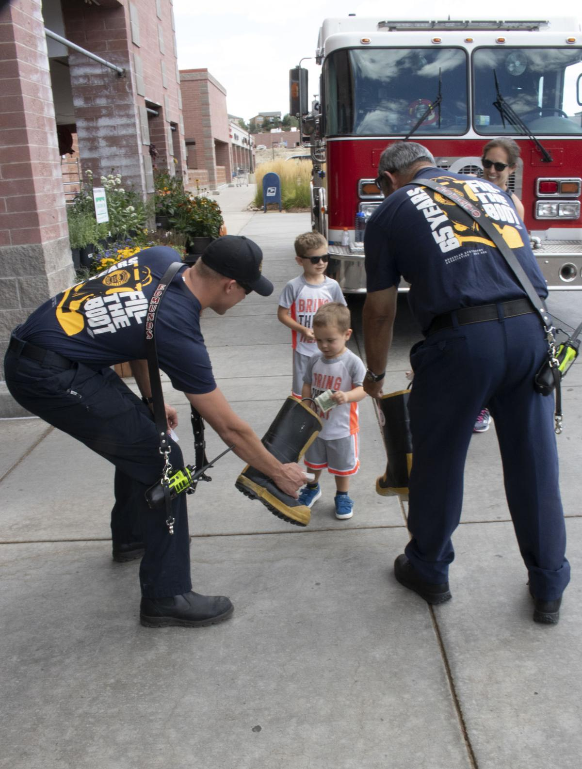 Tri-Lakes firefighters fill the boot for MDA