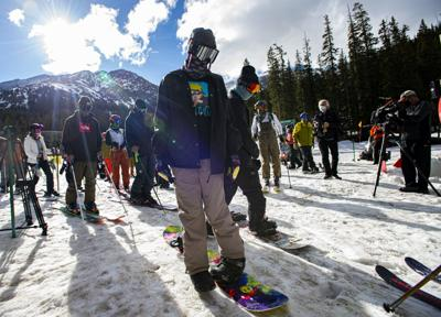 Skiers head back to the slopes