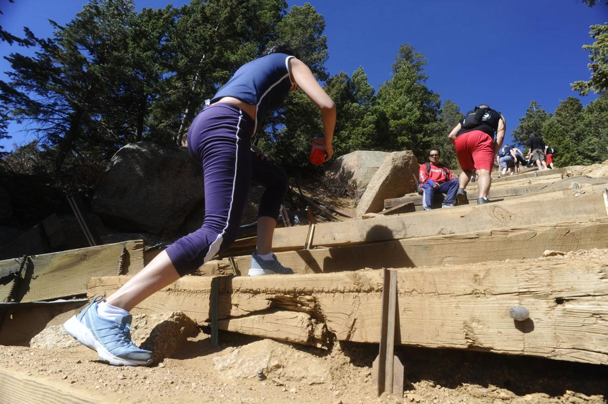 Friday, April 8, 2011, on the Manitou Incline. ( The Gazette, Christian Murdock)