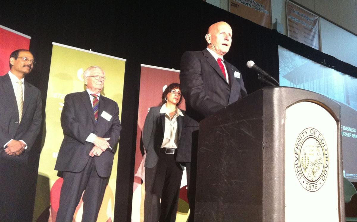 Colorado Springs businessman David Jenkins honored with entrepeneurship award