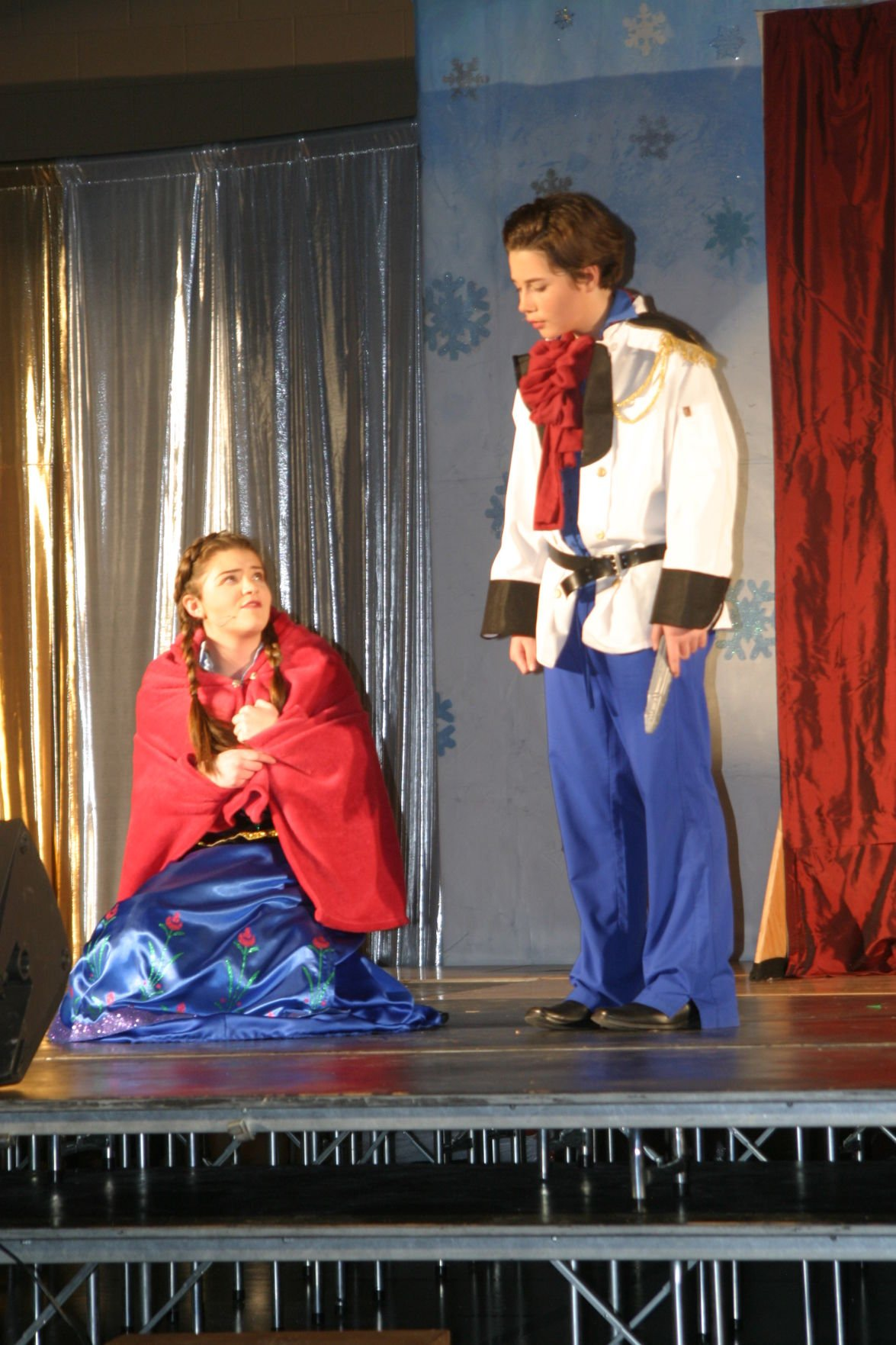 St. Peter Catholic School students 'Let It Go' onstage