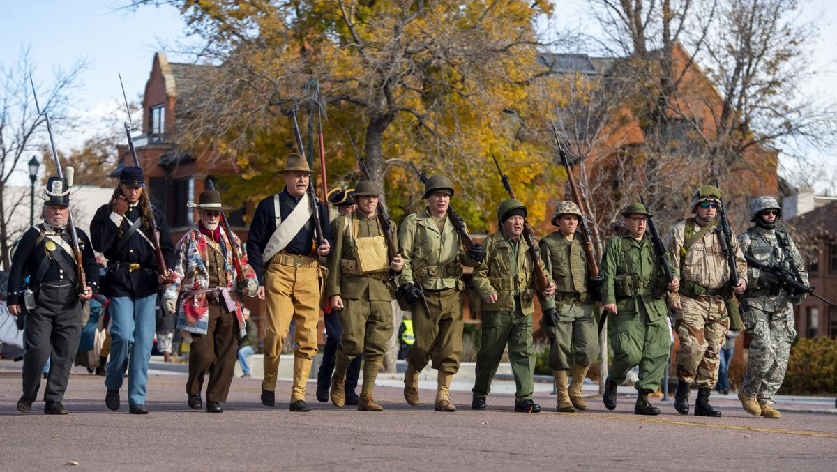 Colorado Springs Veterans Day Parade celebrates the origins of annual holiday