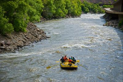 Rafting the Scenic Colorado River in Glenwood Canyon