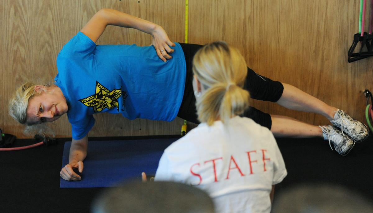 Tests assess skills, weakness of young, competitive ice skaters