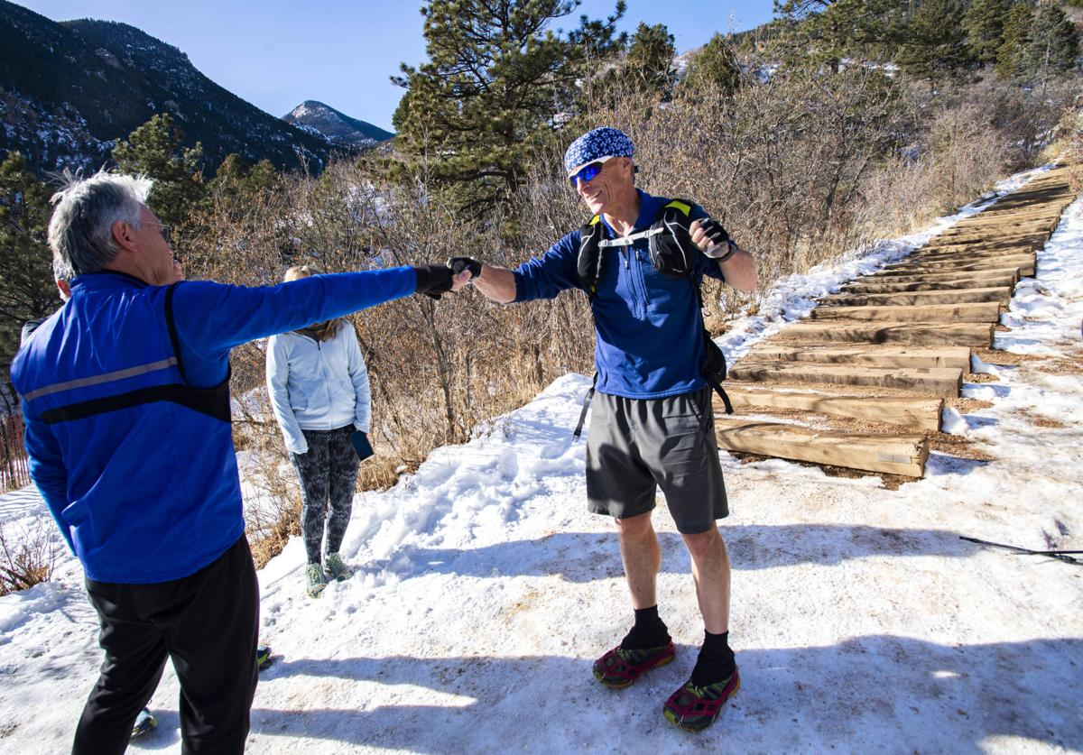 Man breaks 365-day Incline climbing record
