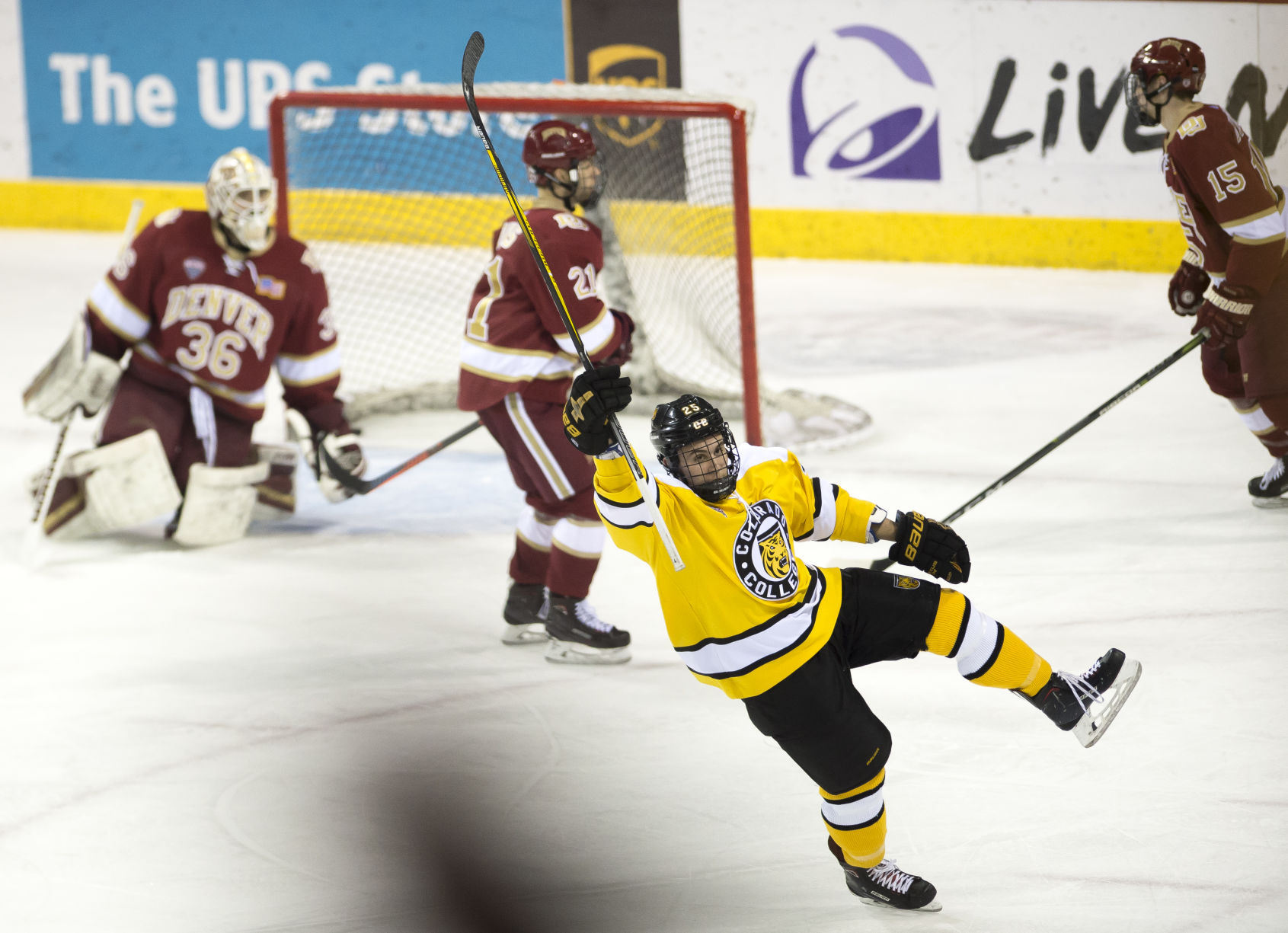 NCHC: Trip To Ohio Productive For Sixth-place Colorado College Hockey