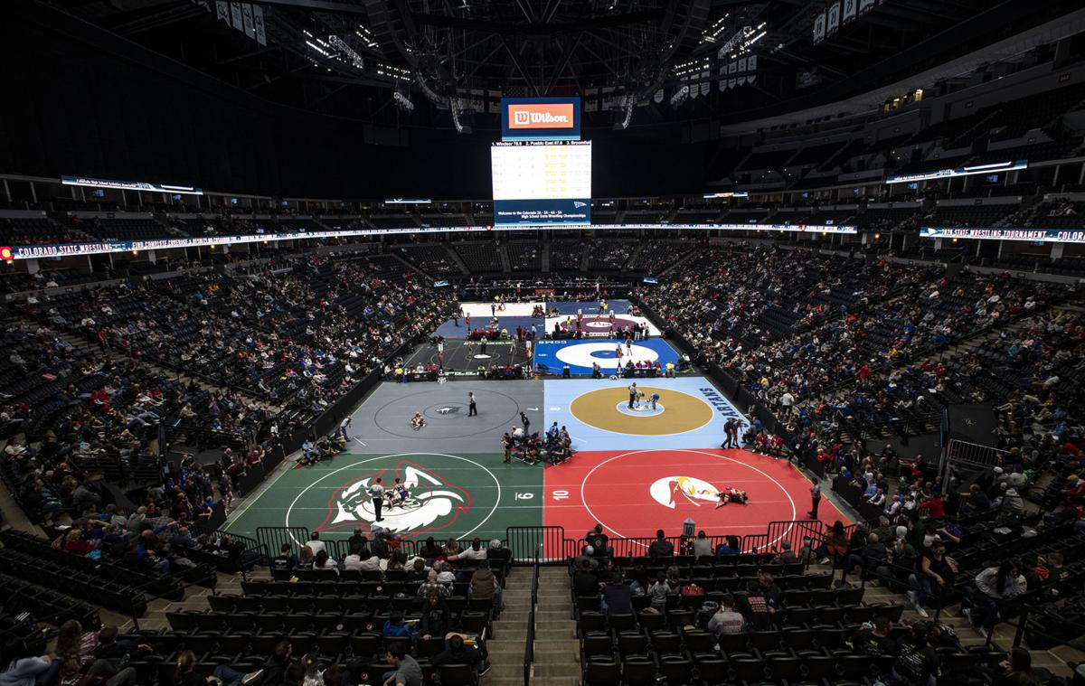 Scenes from the 2020 Colorado State High School Wrestling Championships