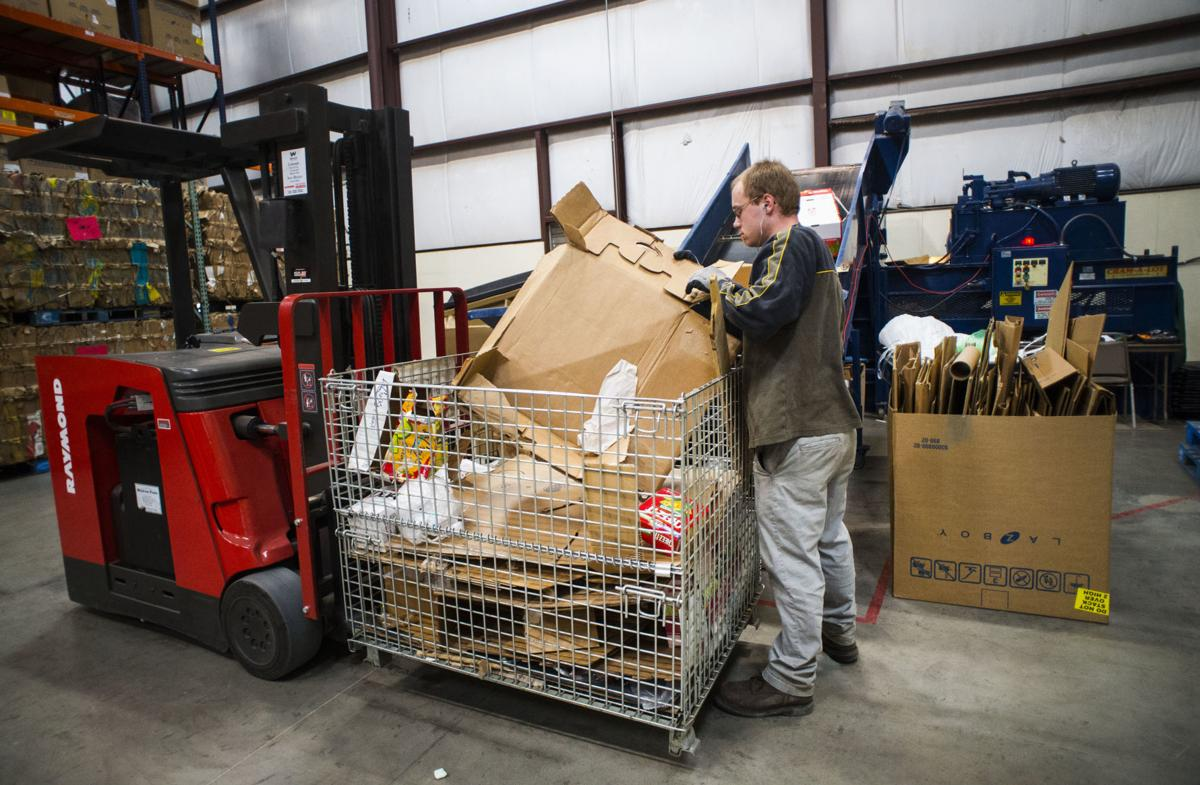 Colorado Springs food bank makes recycling a tool to fight hunger