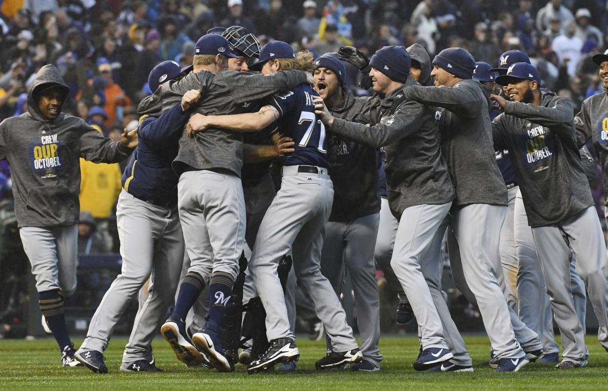 NLDS Brewers Rockies Baseball