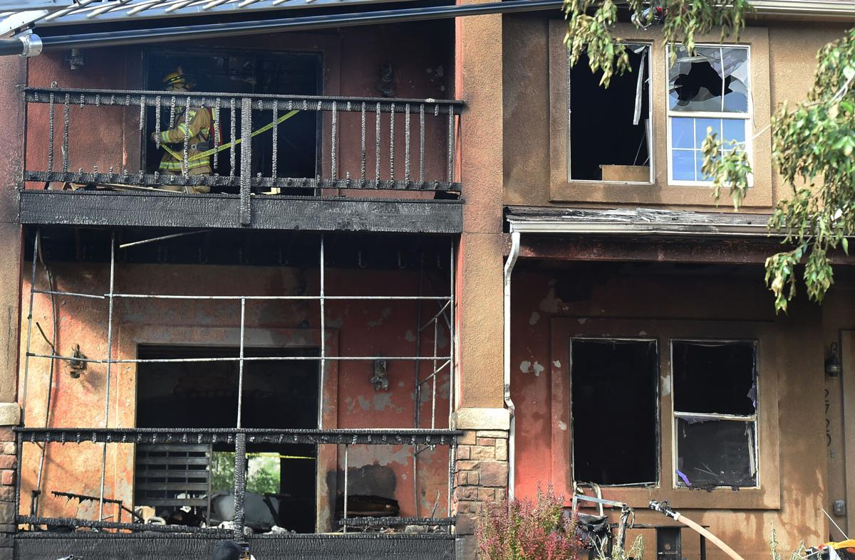 Fire guts home in Old Colorado City