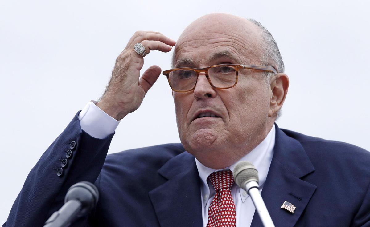 Trump Impeachment Giuliani