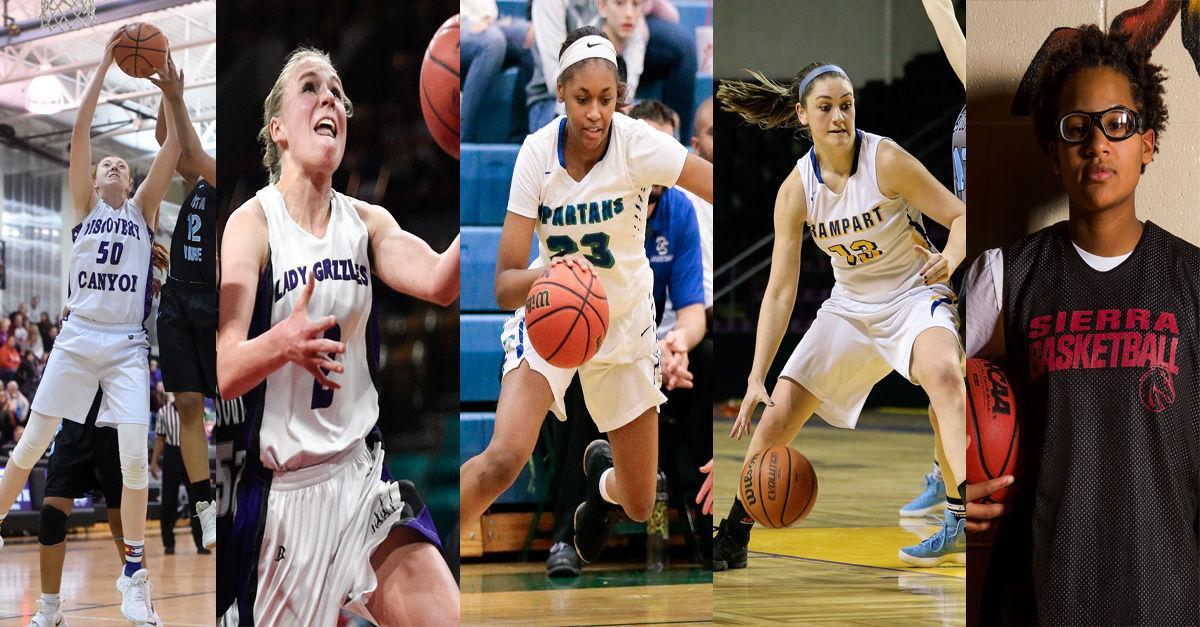 Gazette Preps 2017-18 5A-4A Girls' Basketball All-Stars