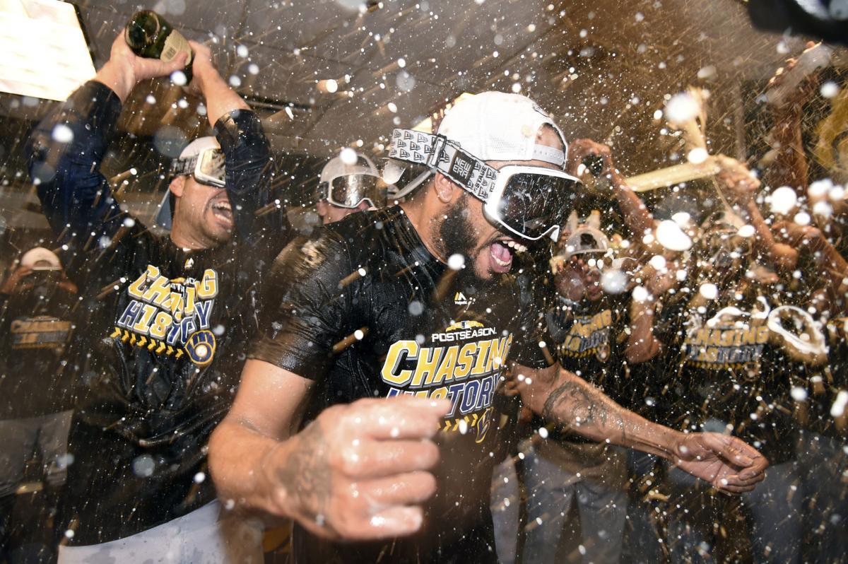 APTOPIX NLDS Brewers Rockies Baseball