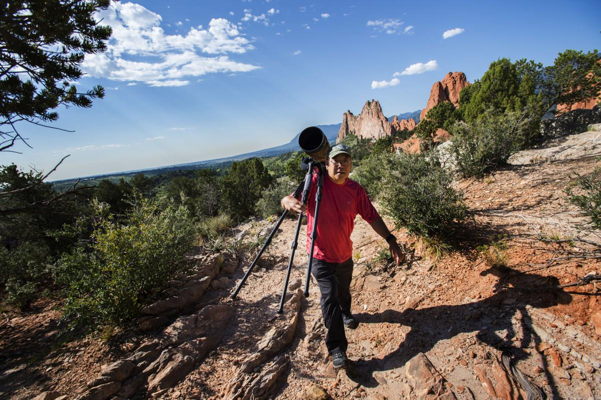 After a near-death experience, photography helped this Colorado Springs man heal