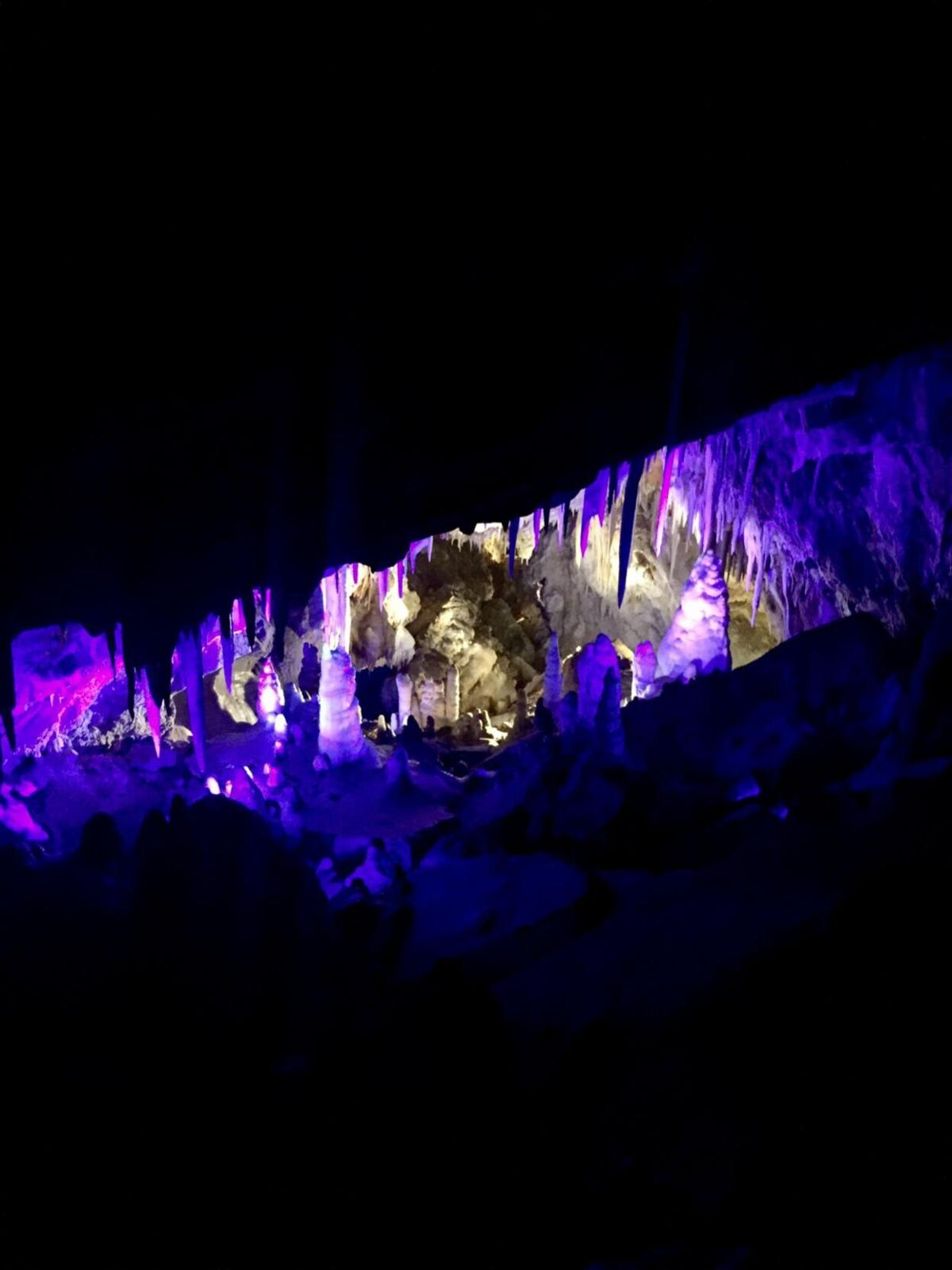 A shot taken during the Glenwood Caverns cave tour. Photo Credit: Spencer McKee