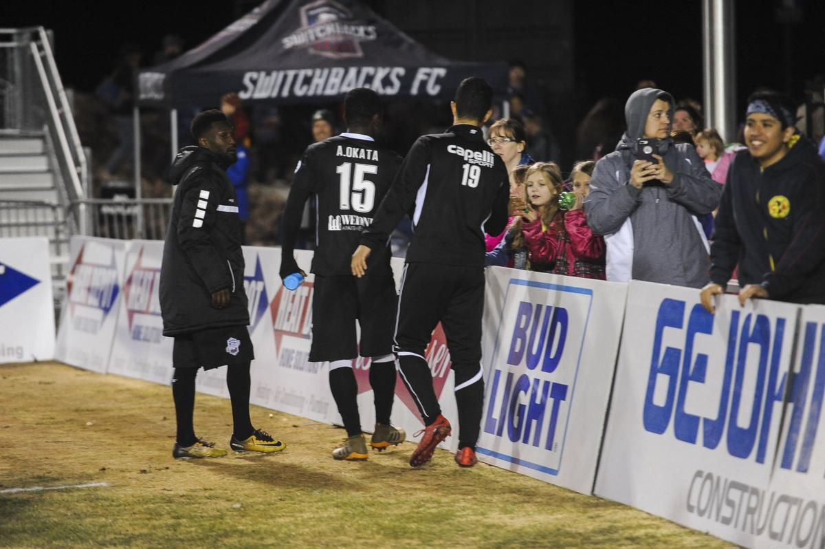 Switchbacks defeated LA Galaxy II 2-0 at Weidner Field, on Saturday, March 17, 2018. (Nadav Soroker, The Gazette)