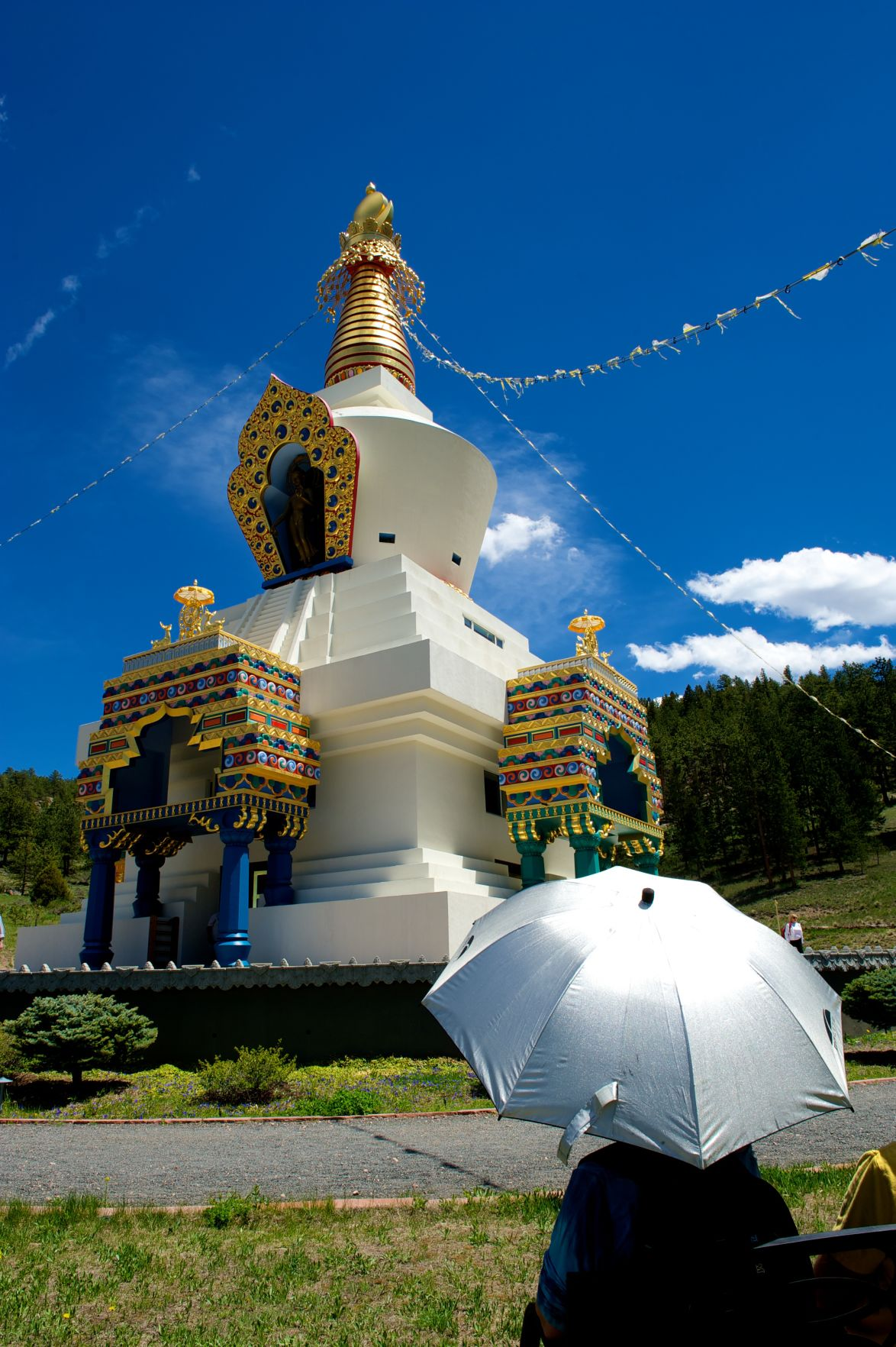 Shambhala Mountain Center home of peace, study and the largest stupa in North America