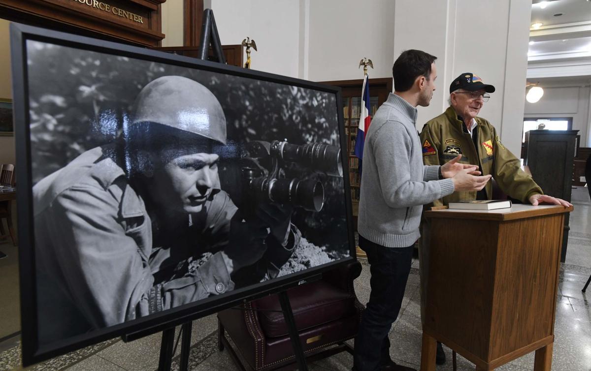 World War II-Jim Bates & Clarence Smoyer