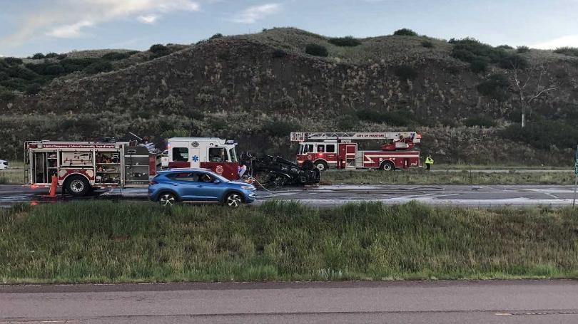 I-25 reopened after deadly crash shutdown lanes near