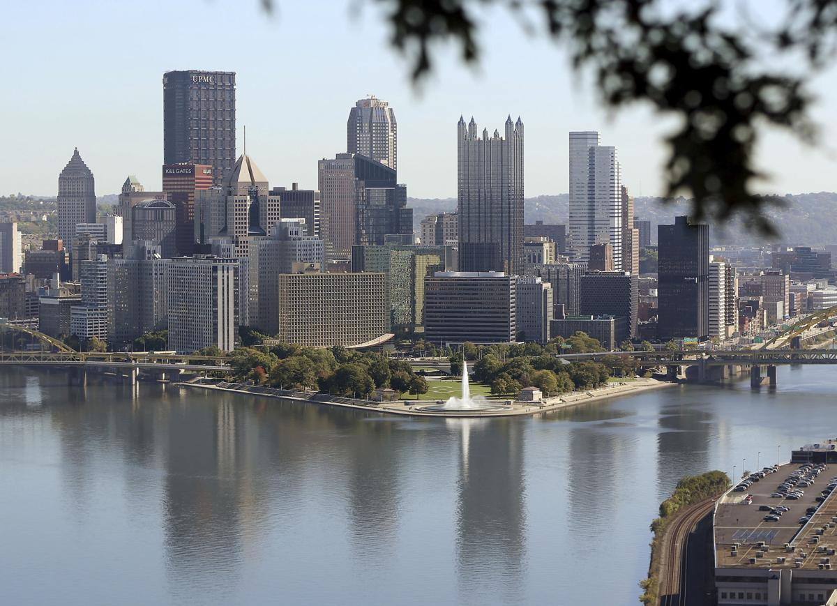 newest cd6c9 cd020 Pittsburgh skyline