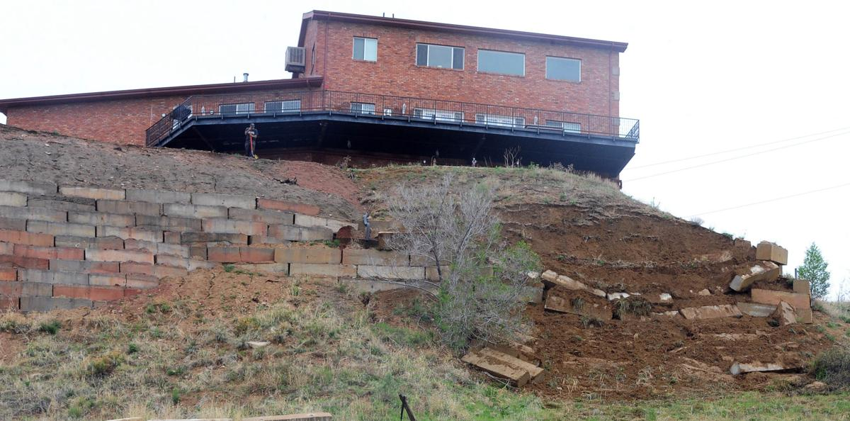 Residents Near Collapsed Retaining Wall In Southwest Colorado