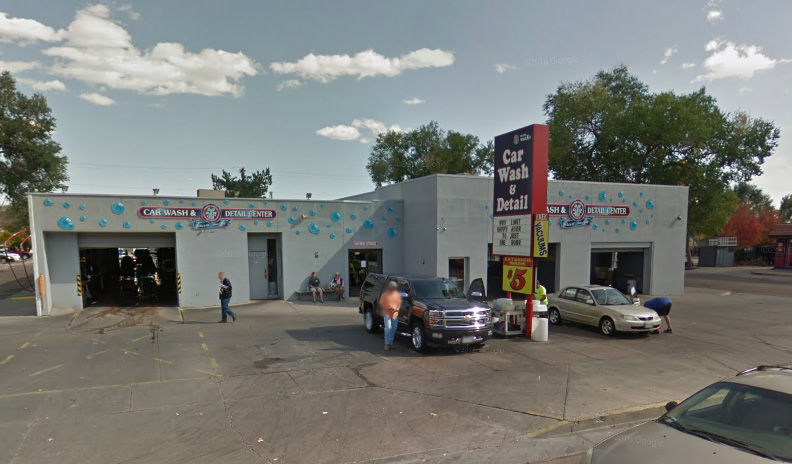 Man Steals Suv From Downtown Colorado Springs Car Wash Crashes It