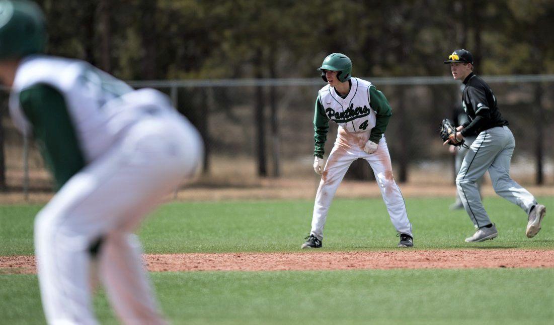 Caleb Elliott. No. 4, and his Woodland Park baseball teammates