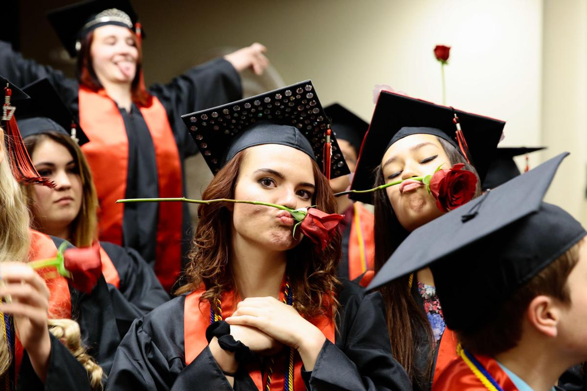 Graduation exercises for Aspen Valley High School were held on Wednesday, May 17, 2017 at Springs Church. Photo by Isaiah J. Downing